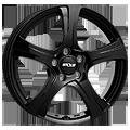 Oxxo Narvi Black 6,5x16 ET48 LK5x108