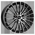 RH-Alurad BM Multispoke 8,5x19 ET45 LK5x108