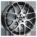 RH-Alurad NBU Race 8,5x18 ET45 LK5x108